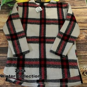 New NWT Zara Winter Collection wool top size XS S